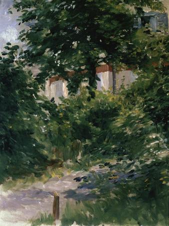 Une Allee dans le Jardin de Rueil