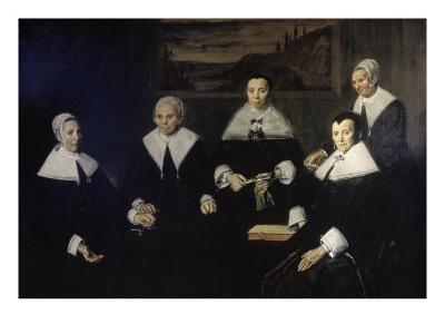 Women Regents of the Haarlem Almshouse