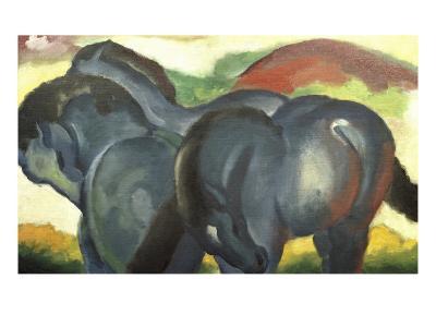 Little Blue Horses