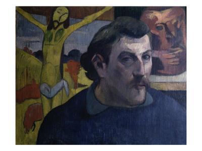 Autoportrait au Christ Jaune