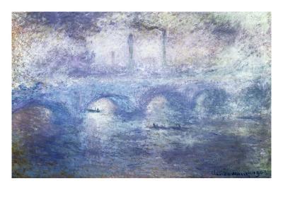 The Waterloo Bridge, Effect of Fog