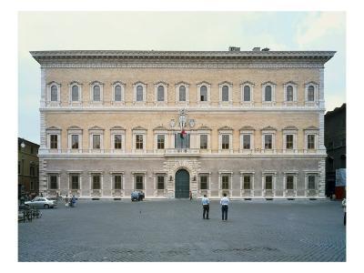 Palazzo Farnese (Facade)