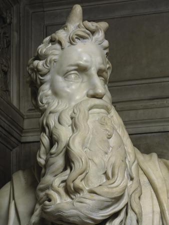 Moses (Detail of Face)