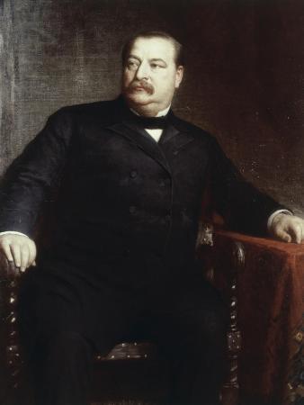Grover Cleveland, (President 1885-1889)