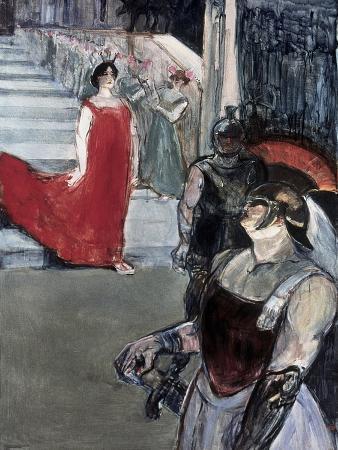 Opera Messalina at Bordeau