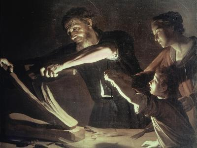 Holy Family in the Carpentery Shop