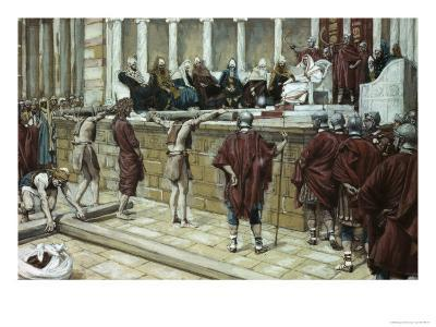 Pilate Announces Judgement from the Gabbatha