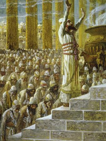 Solomon Dedicates the Temple at Jerusalem