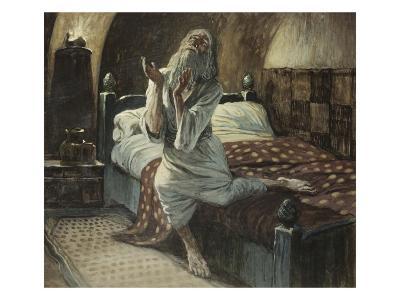 David Praying in the Night