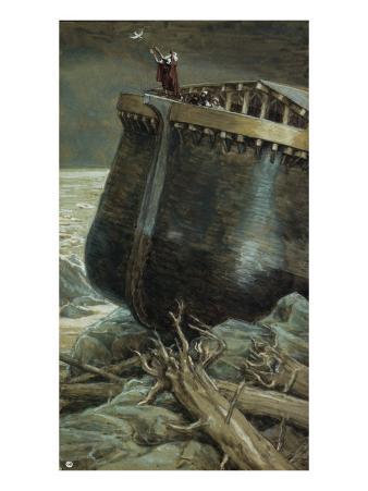 The Dove Returns to Noah