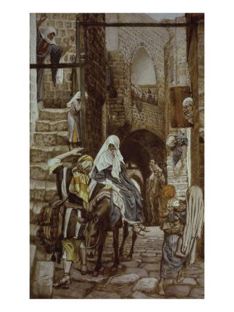 Joseph Seeks Lodging at Bethlehem