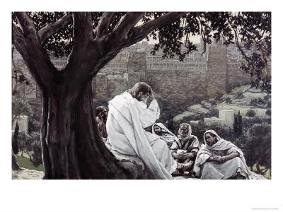 Christ Fortelling the Destruction of the Temple
