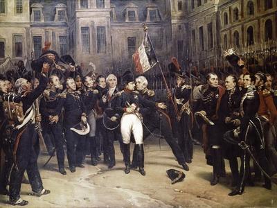 Napoleon's Farewell at Fountainbleau