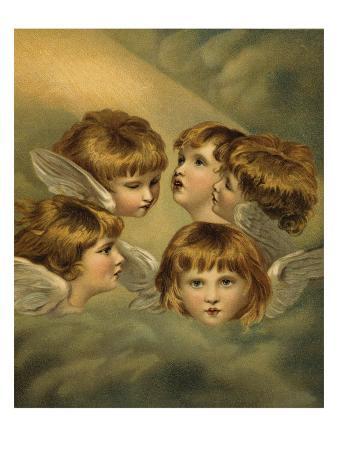 Child Angel Heads