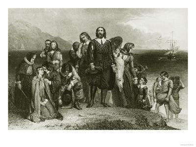First Landing of the Pilgrims, 1620