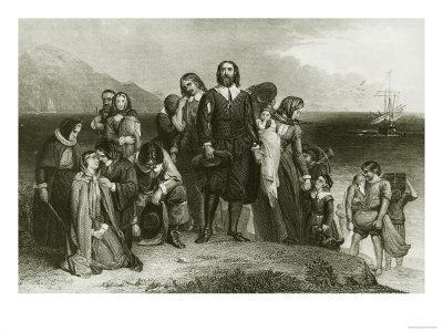 First Landing of the Pilgrims, 1620