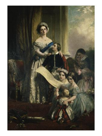 Queen Victoria and Her Children