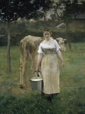 Manda Lametrie, the Farmer's Wife