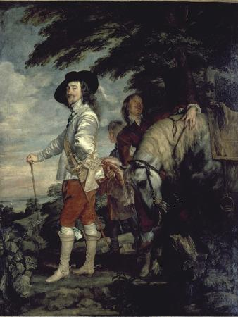Charles I, King of England, at the Hunt