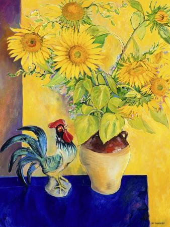 Rooster and Sunflowers (Coq et Tournesols)