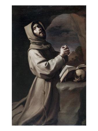 Saint Francis Praying