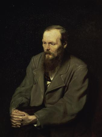 Portrait of the Fyodor Dostojevsky