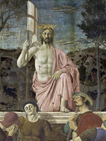 Resurrection of Christ, Detail