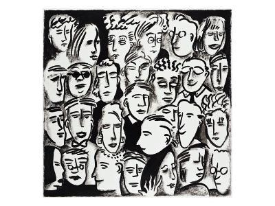 Faces in Black and White