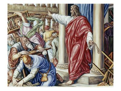 Jesus Drives Them Out of the Temple