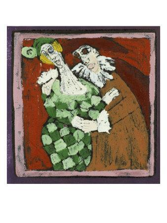 Harlequin and the Doctor (Commedia Dell'Arte)