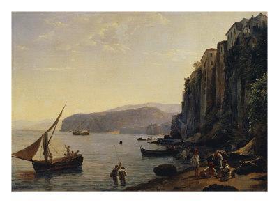 View of Sorrento, Near Naples