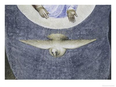 Dove, Jesus's Baptism Detail