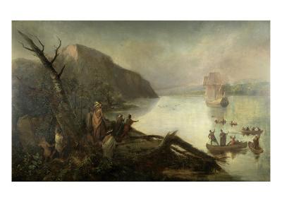 The Landing of Henry Hudson