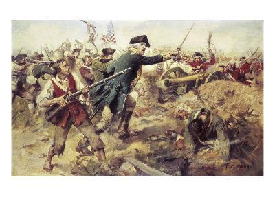 Gen John Starkat the Battle of Bennington,VT