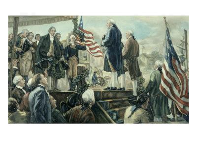 Washington Landing at Foot of Wall Street, NY