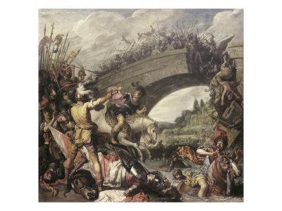 Battle at the Mulvian Bridge, 312 Ad