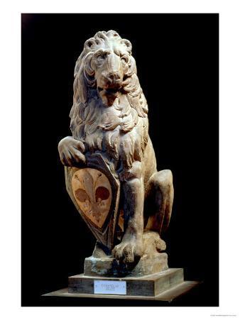 Heraldic Lion, 1420