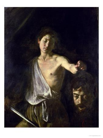 David with the Head of Goliath, 1606