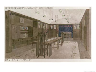 Design for a Dining Room, 1901