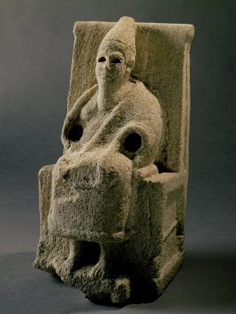 The God El, from Ugarit, 13th Century BC