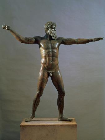 Statue of Poseidon, circa 460-450 BC