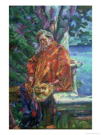Portrait of Ferruccio Busoni 1916