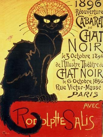 Reopening of the Chat Noir Cabaret, 1896