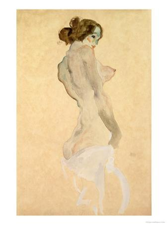 Standing Female Nude, 1912