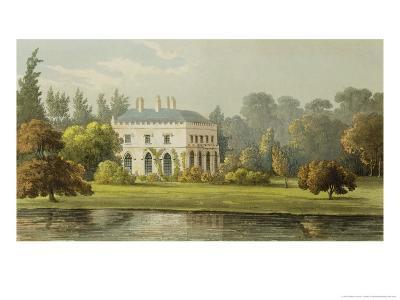 "Elvills, Englefield Green, from Ackermann's ""Repository of Arts,"" 1827"