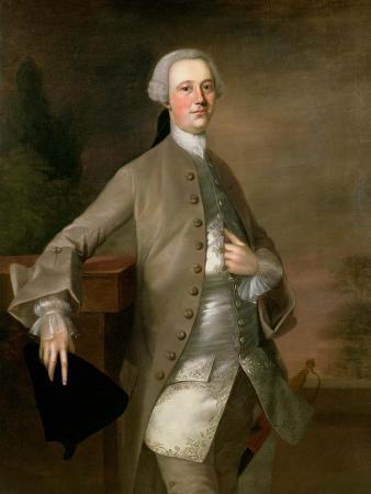 Portrait of David Garrick, 1742