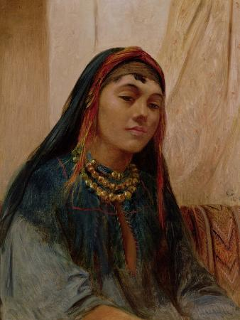 Portrait of a Middle Eastern Girl, circa 1859