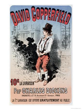 """Advertisement for """"David Copperfield by Charles Dickens,"""" 1884"""