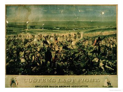 Custer's Last Fight, 25 June 1876
