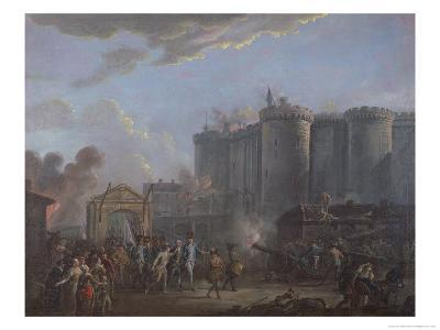 The Arrest of the Governor of the Bastille, 14th July 1789, 1790-95